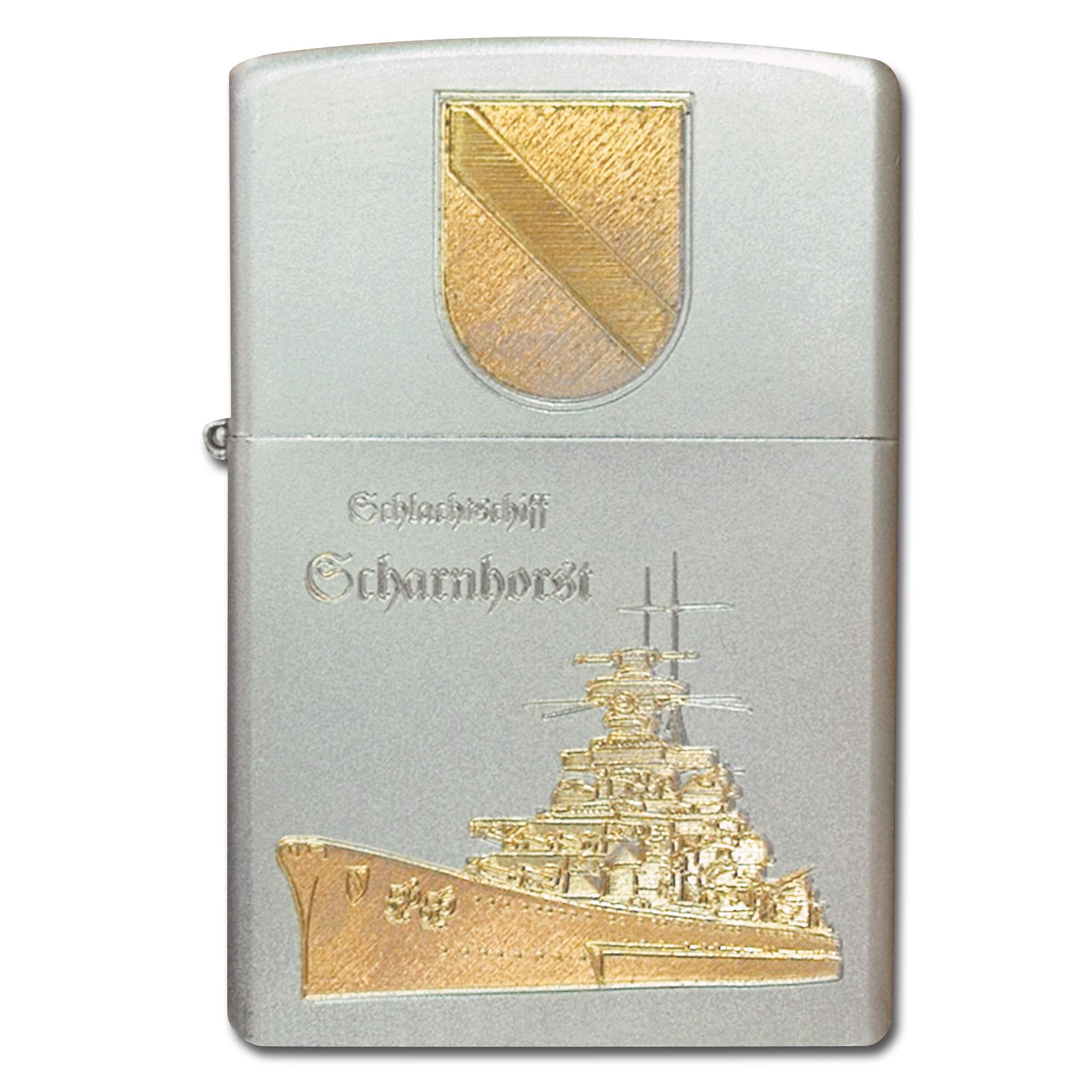 Accendino Zippo con incisione Scharnhorst