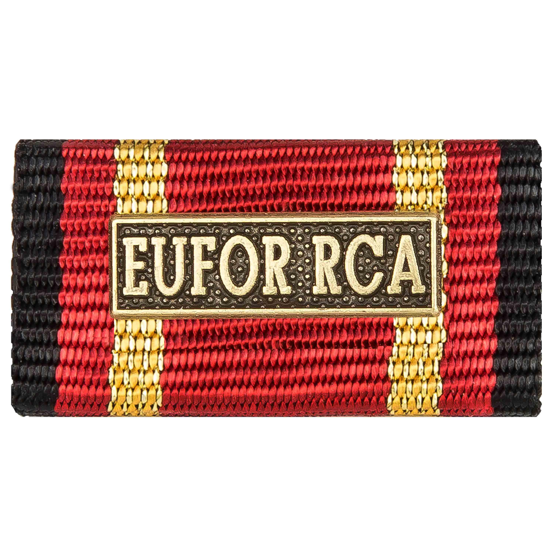 Ordensspange Auslandseinsatz EUFOR RCA bronze