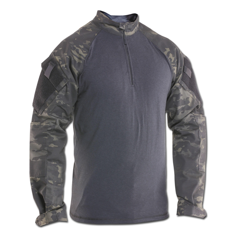 Camicia di combattimento Tru-Spec multicam TRU nero