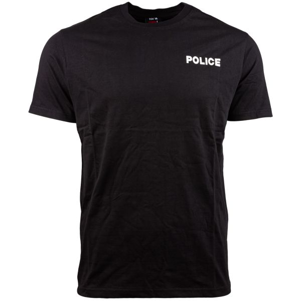 T-Shirt Strong Police marca TOE Concept nera