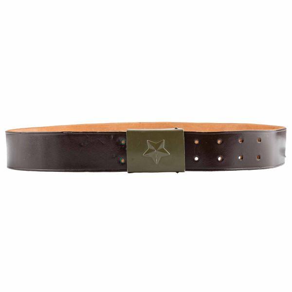 Cintura in pelle Ceca marrone usata