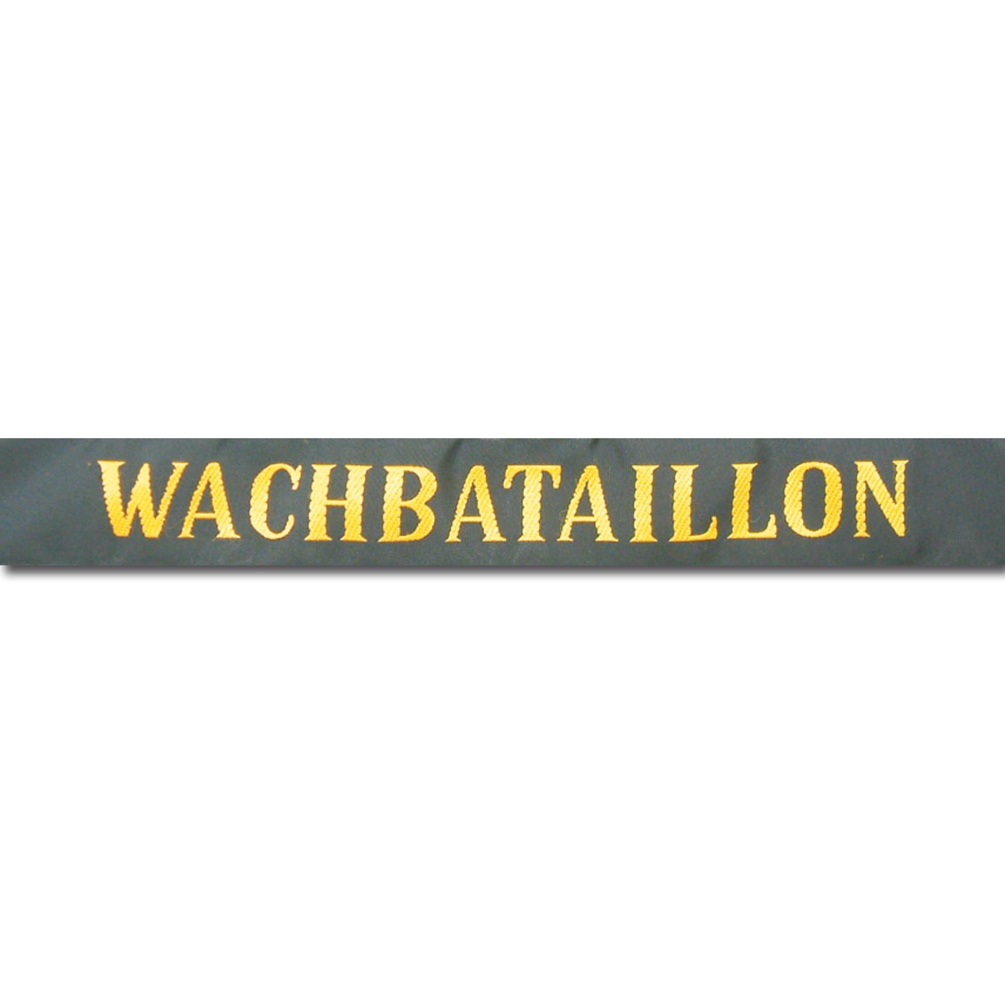 Sailor hat band Wachbataillon