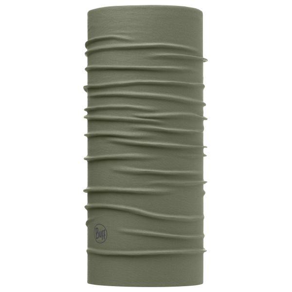 Scaldacollo Buff schermo UV protezione insetti Solid Dusty oliva