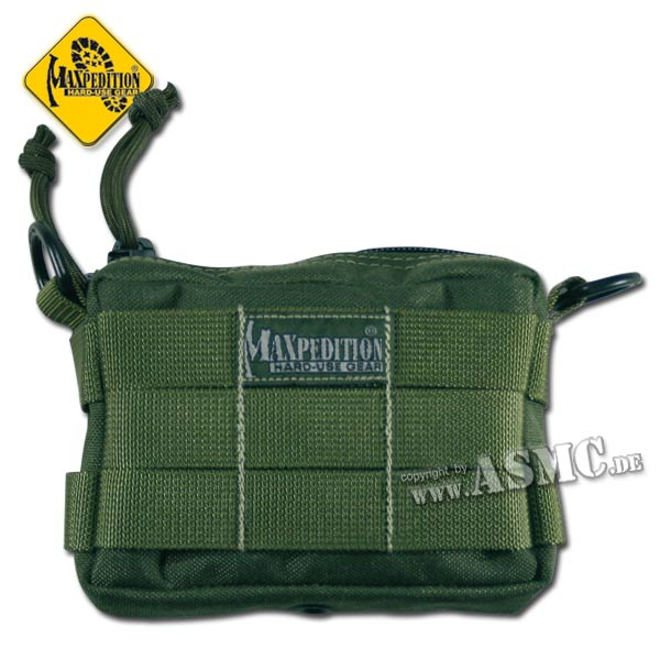 Borsello pocket Tactile marca Maxpedition piccolo verde oliva