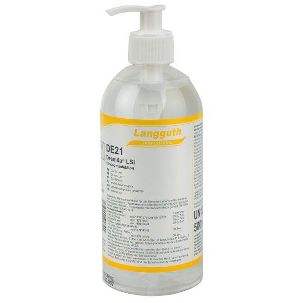 Disinfettante mani Langguth Desmila LSI DE21 500 ml
