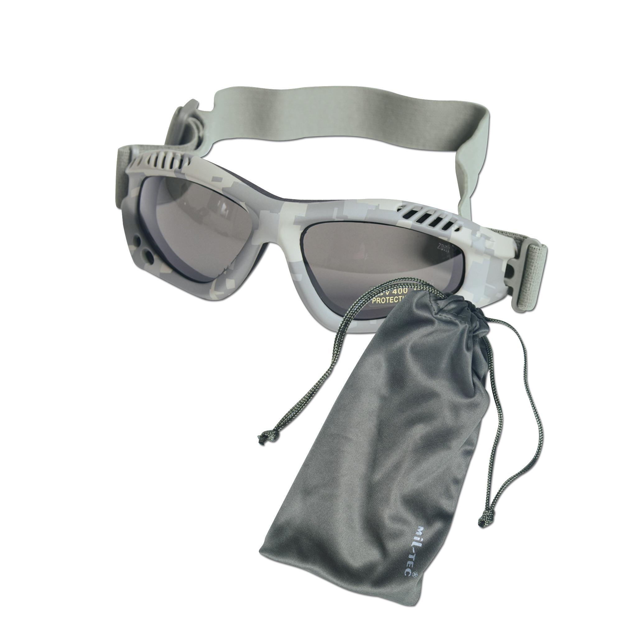 Occhiali Commando Air-Pro AT-digital fumo
