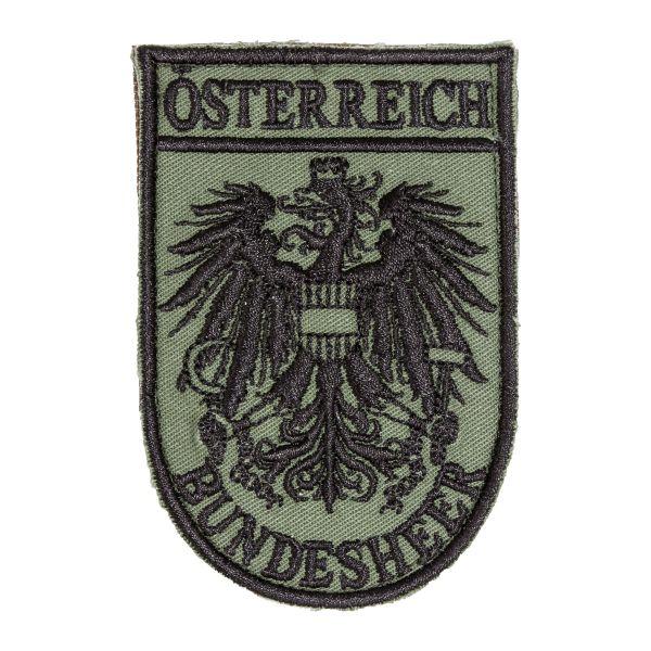Distintivo in tessuto Forze Armate austriache con velcro