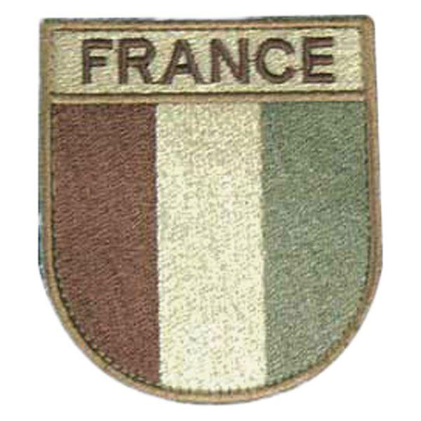 Patch in tessuto Francia marca TOE Concept desert