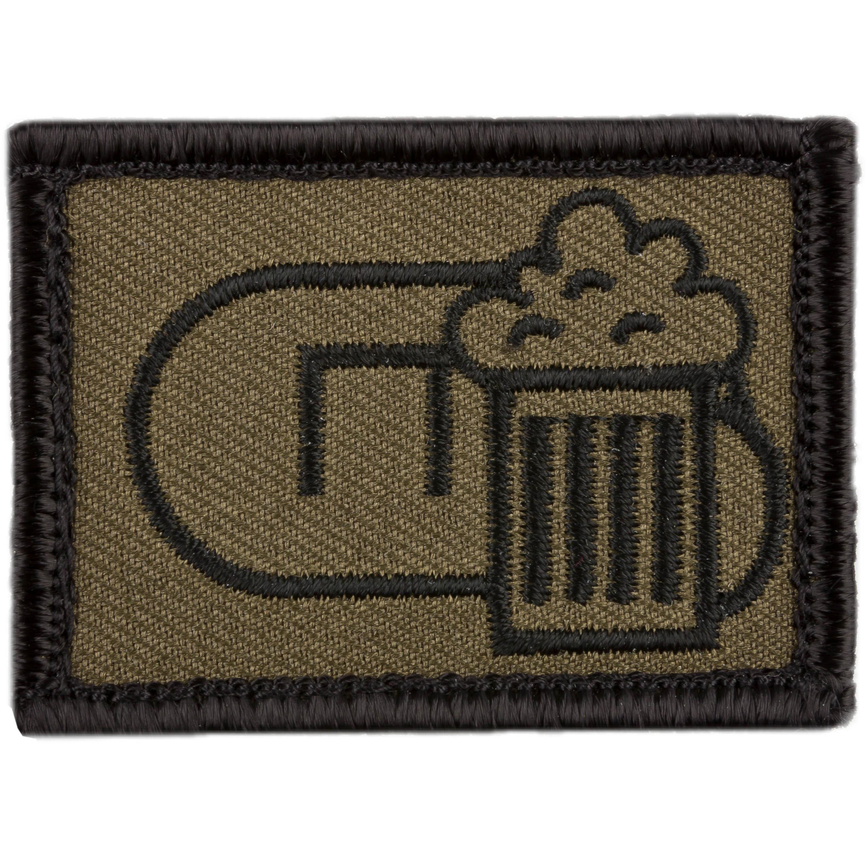 Patch Panzer e birra marca Cafè Viereck