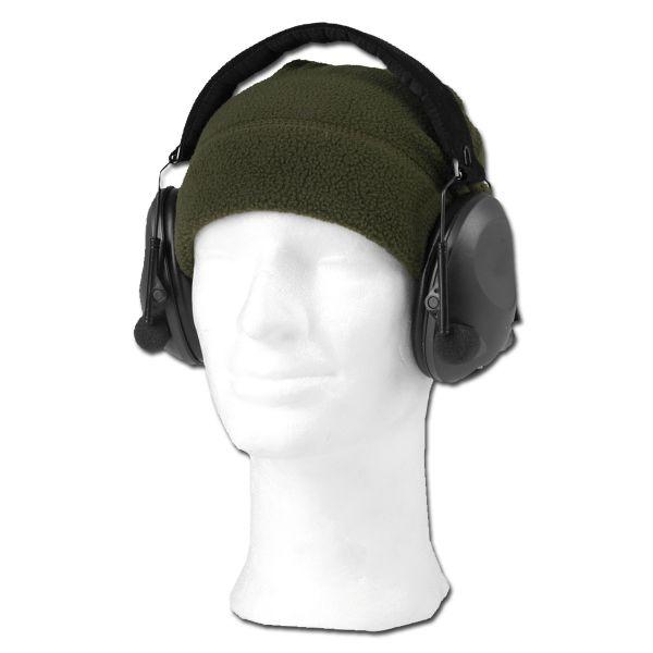 Cuffia di protezione acustica elettronica Mil-Tec nero