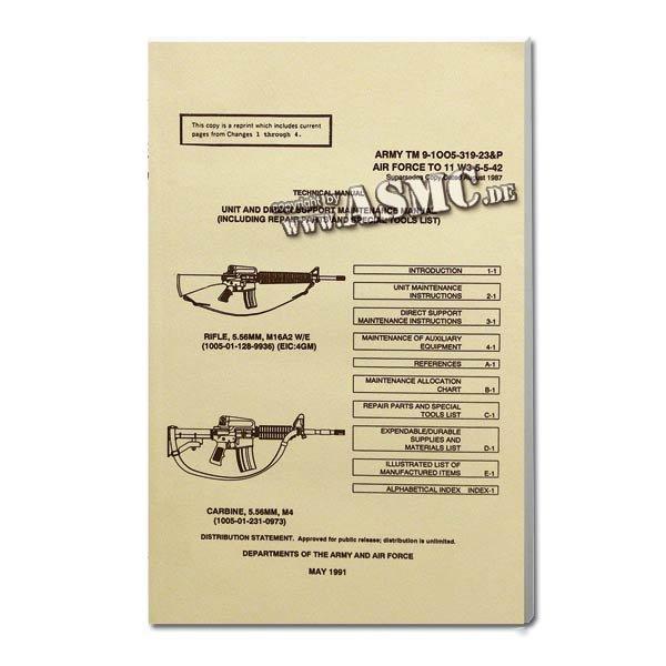Book M16A2 Rifle & M 4 Carbine