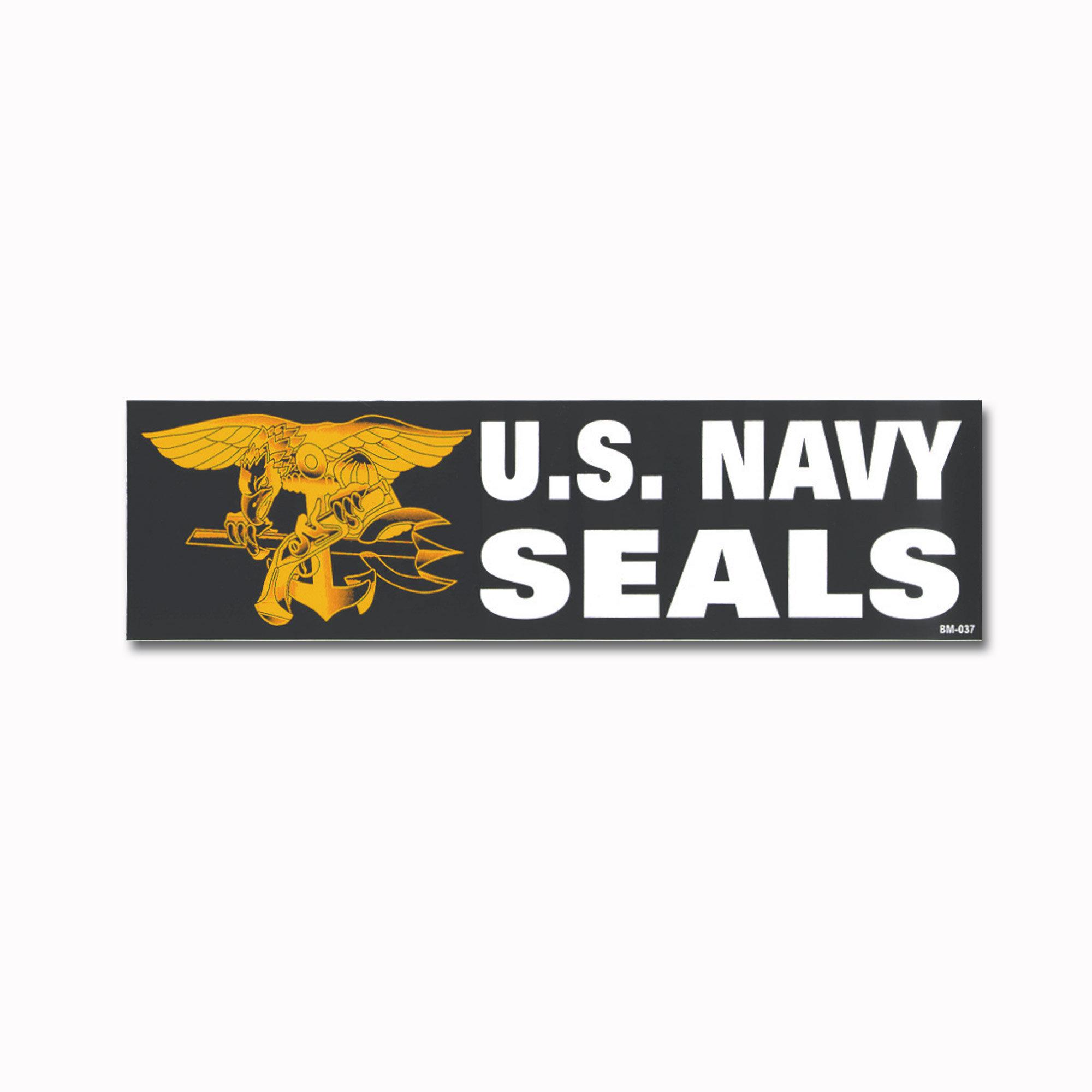 Bumper Sticker U.S. Navy Seals