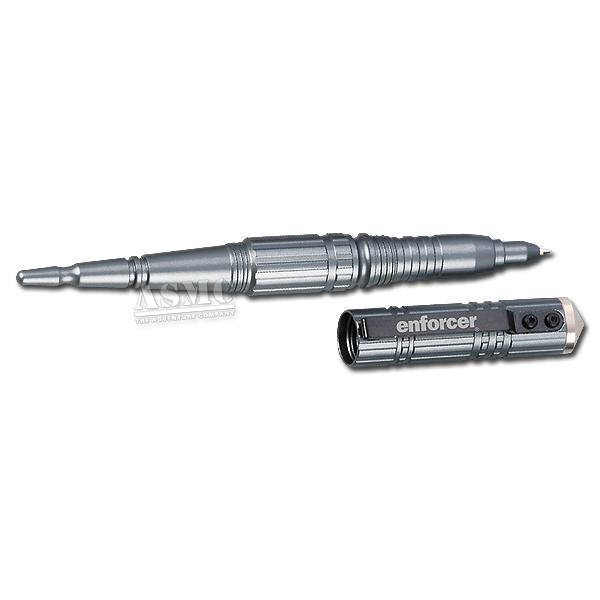 Penna tattica, modello Tactical Pen I, Enforcer, argento