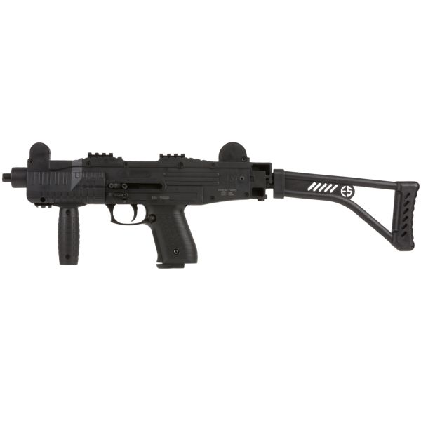 Pistola mitragliatrice a gas con calcio ribaltabile ASI Ekol
