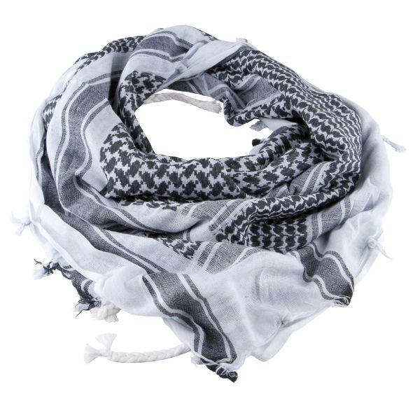 Fazzoletto Shemag bianco-nero