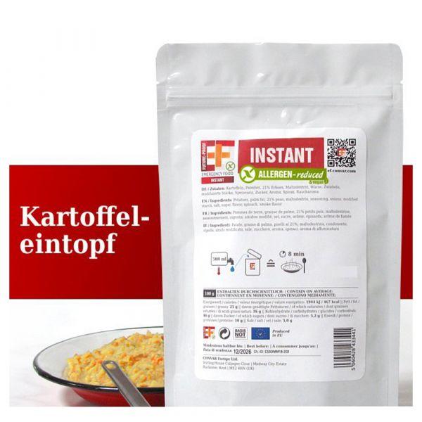Zuppa di patate EF Emergency Food in bustina