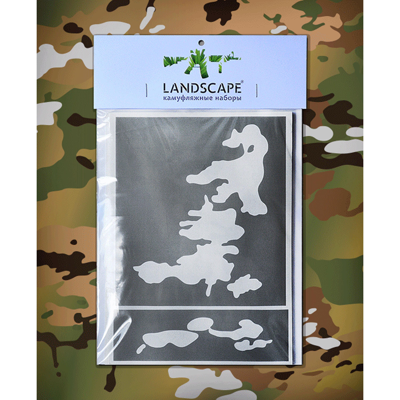 Stencil Landscape camo multicam