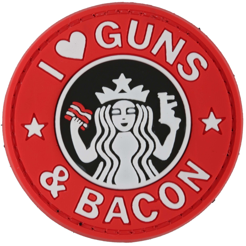 Patch 3D TAP Guns and Bacon, colori vivi