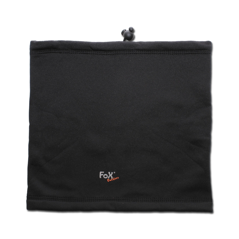 Copricollo Fox Outdoor Softshell nero