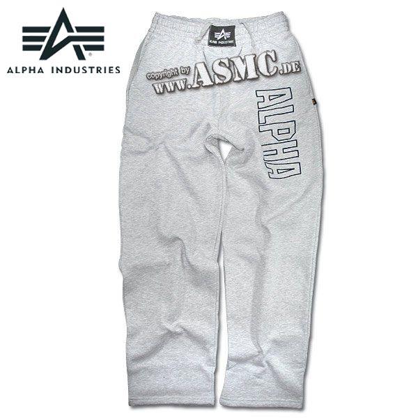 Pantaloni sportivi, serie Track, Alpha Industries, colore grigio