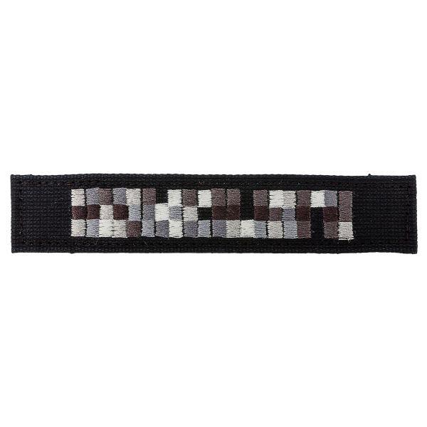 Targhetta nome in tessuto Forze Speciali nero grigio