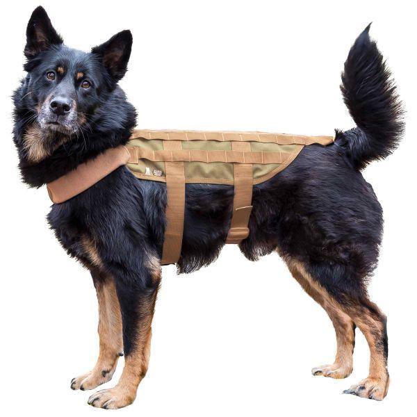Gilet tattico per cane marchio Primal Gear tan
