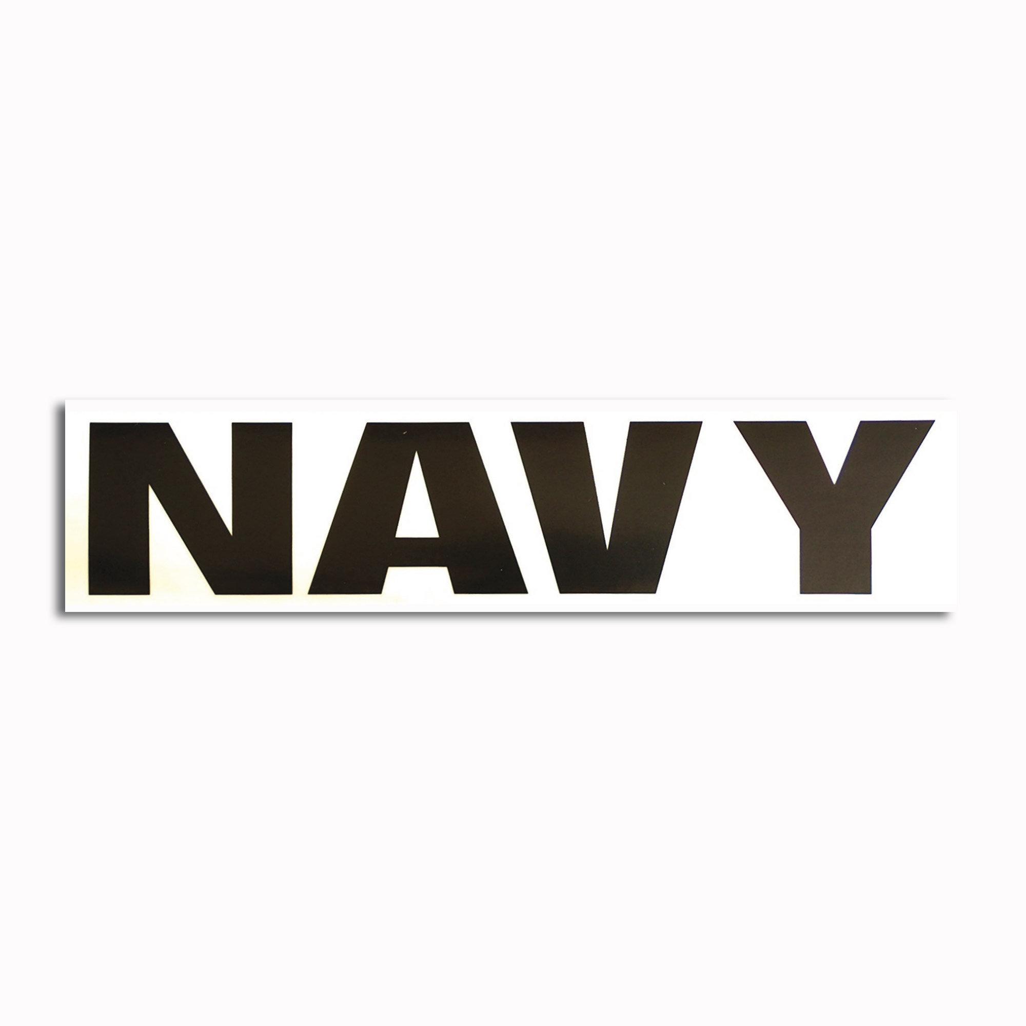 Transparent sticker Navy