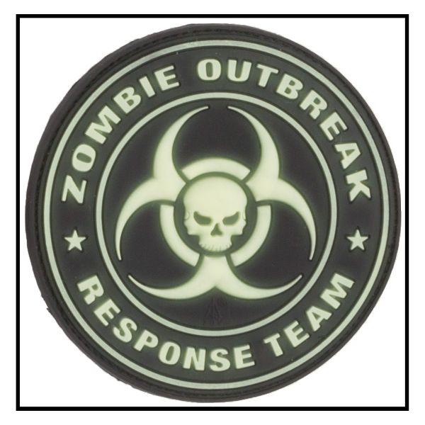 3D-Patch Zombie Outbreak Response Team visibile al buio