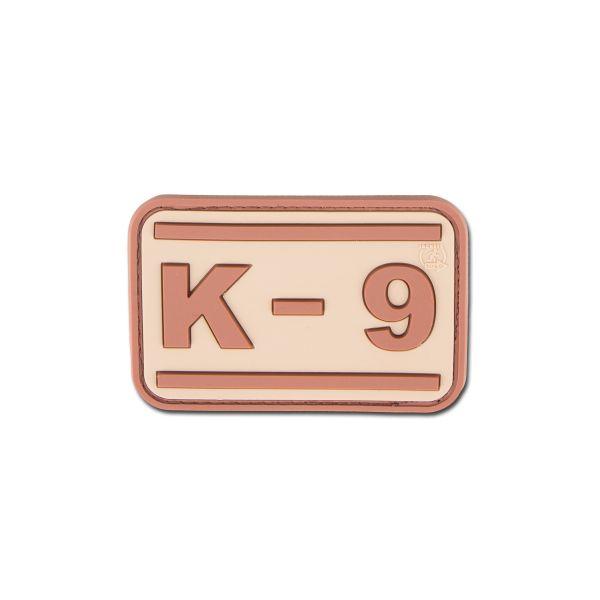 Patch 3D K-9 colore desert