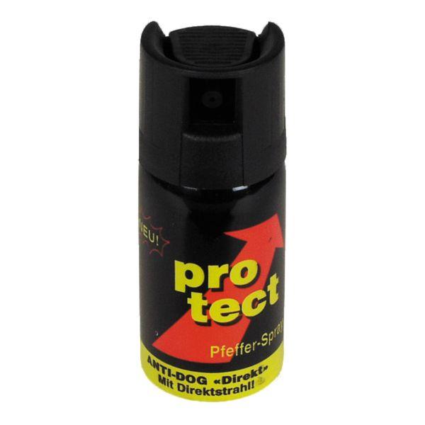Spray di difesa al peperoncino Protect, getto balistico 40 ml