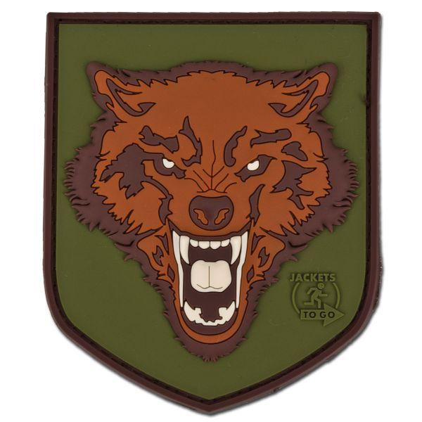 3D-Patch Wolf fullcolor