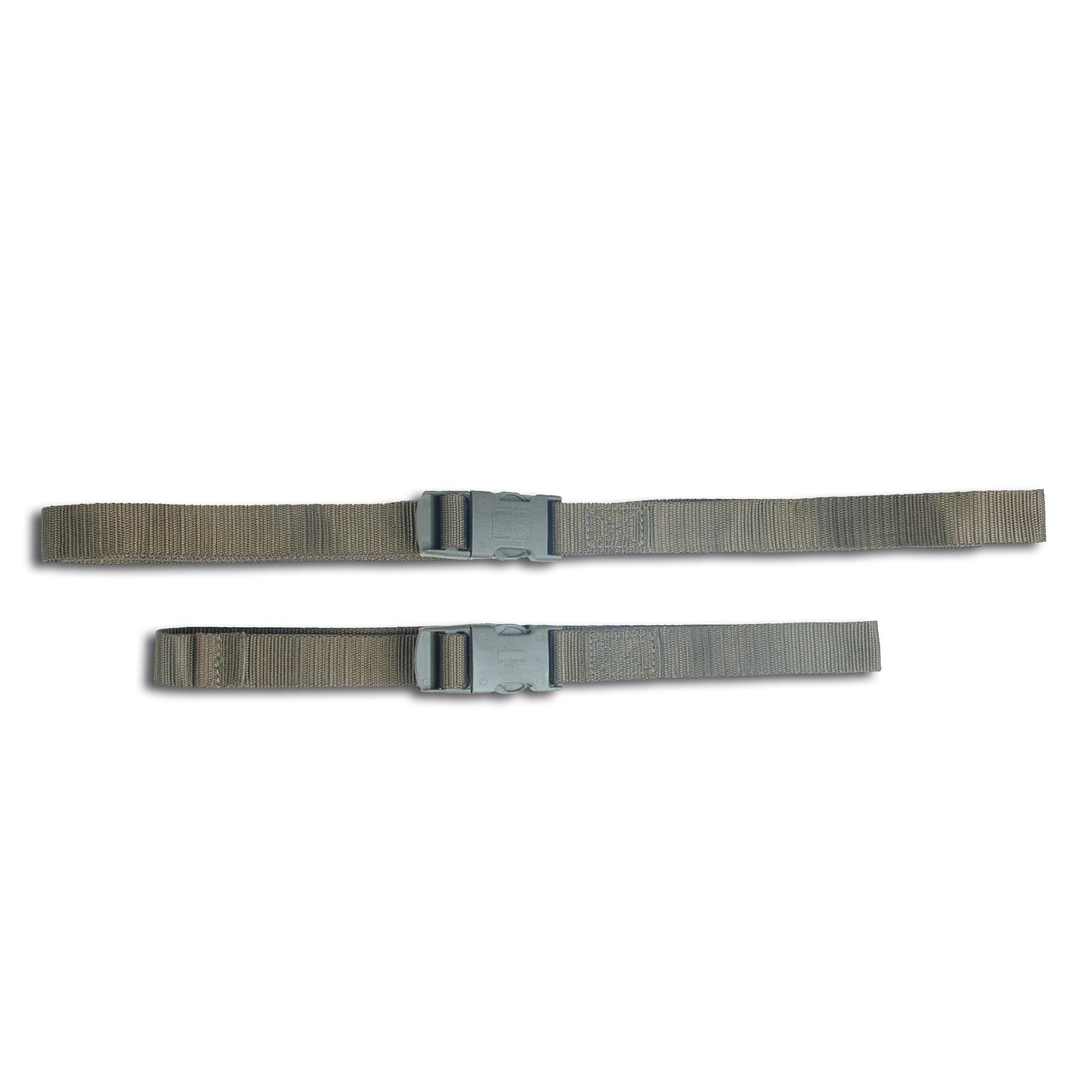 Cintura imballaggio con fibbia oliva 80 cm