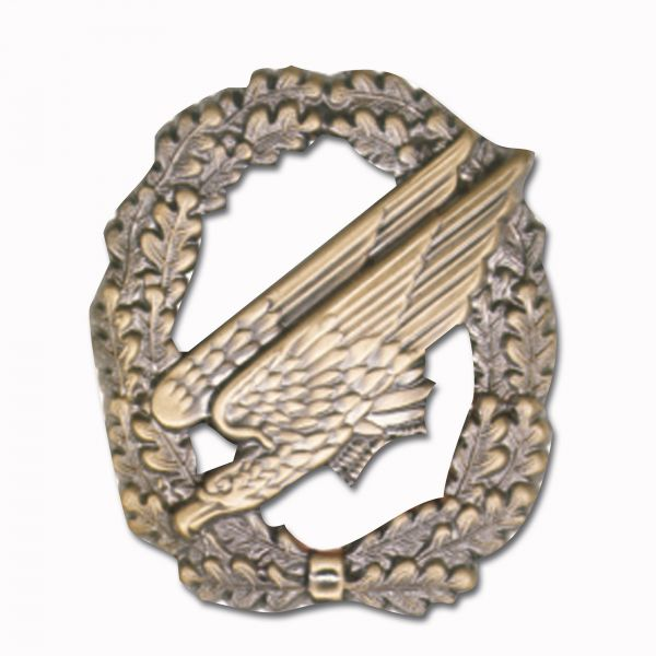 Distintivo Paracadutisti Beret senza bandiera bronzo