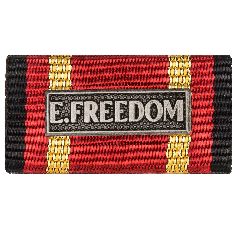Nastrino servizio estero Enduring Freedom argento