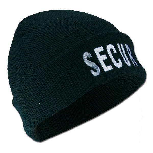 Berretto SECURITY nero