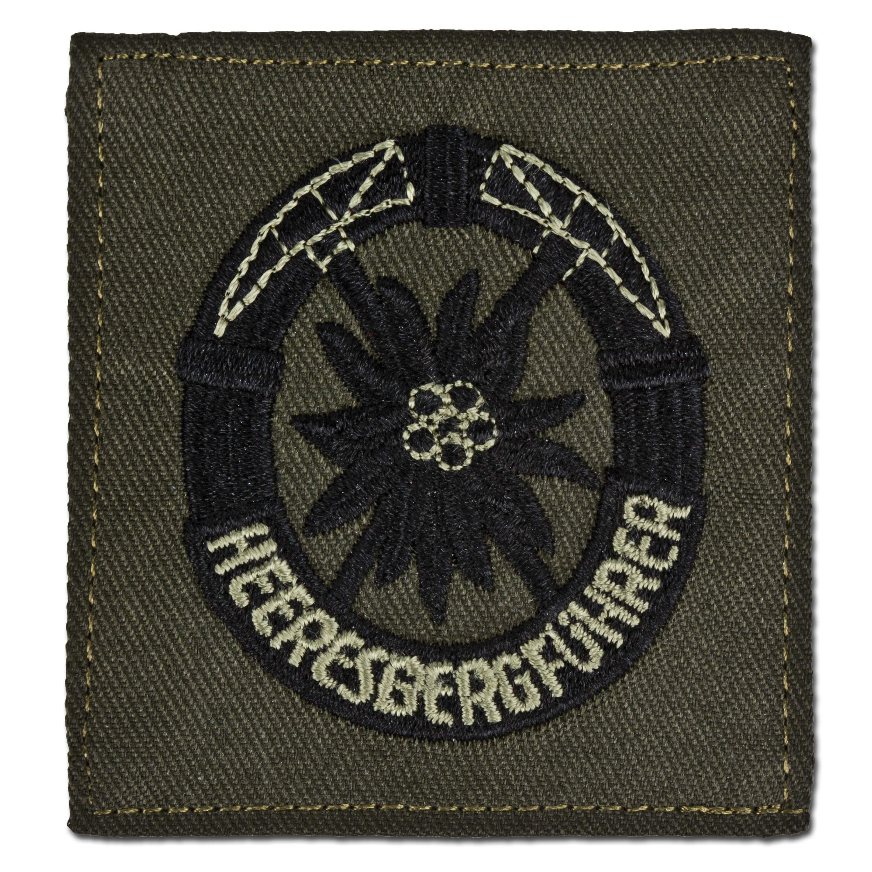 Distintivo di servizio militare alpino Bw oliva/nero