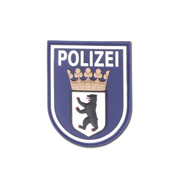 Stemma Patch 3D, Polizia di Berlino, colore blu