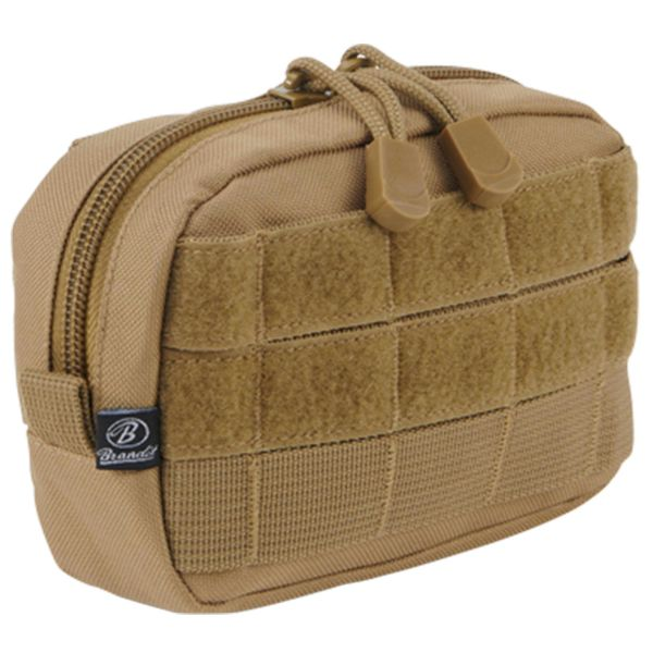Tasca Compact Molle marca Brandit camel