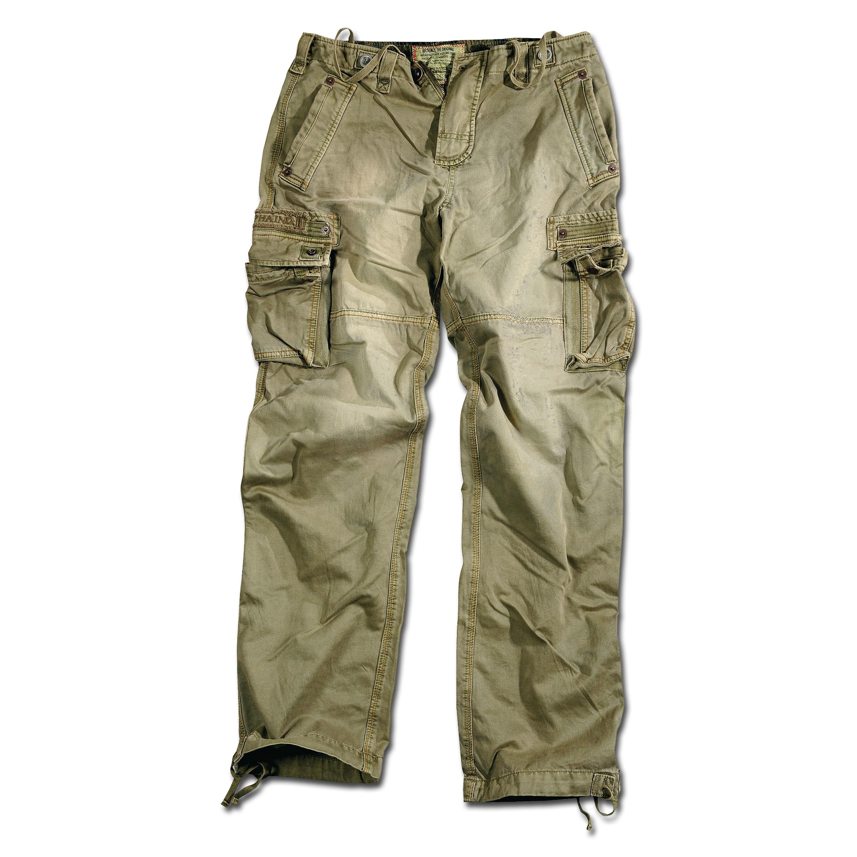 Pantaloni Alpha Industries pantaloni oliva