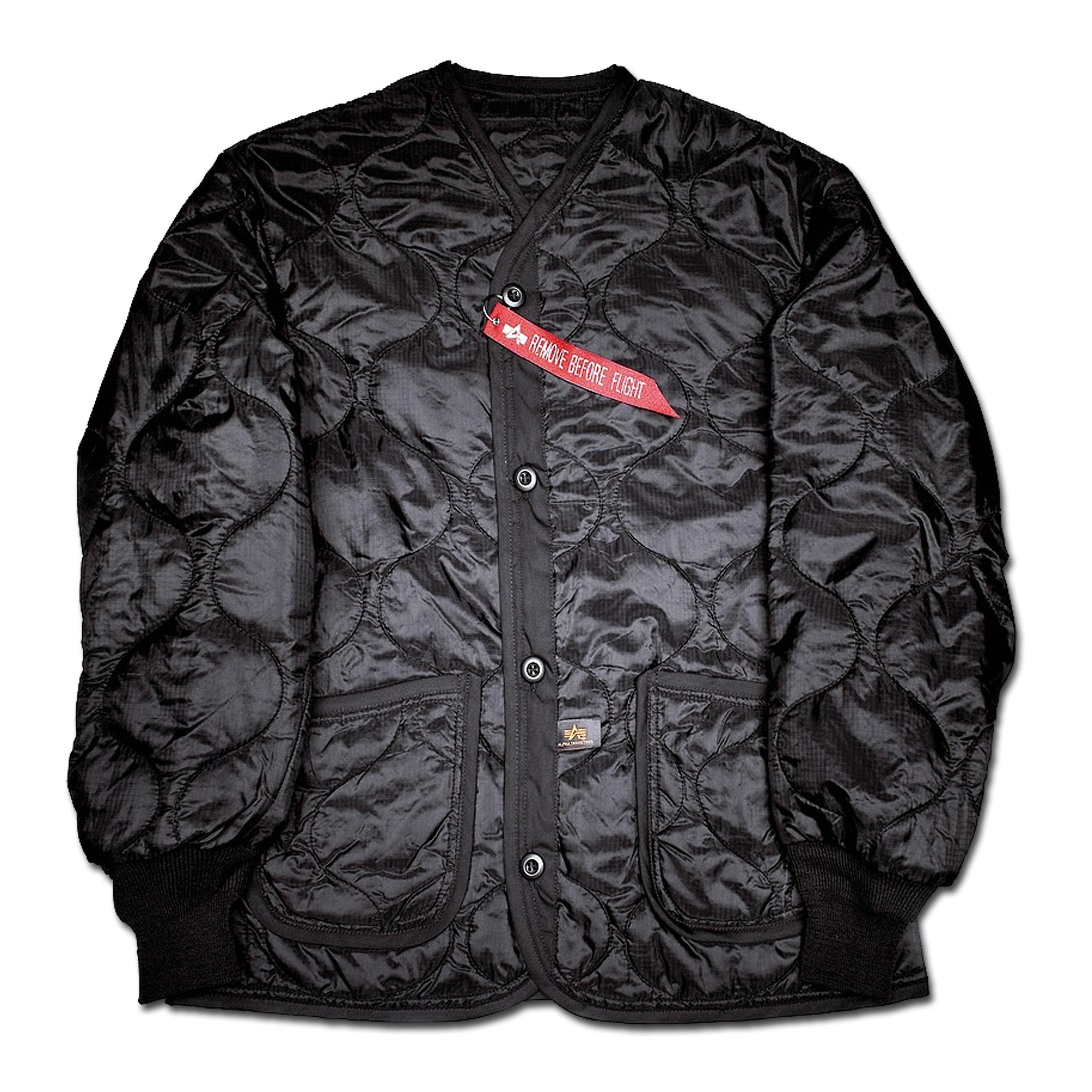 Giacca Liner Alpha Industries nera