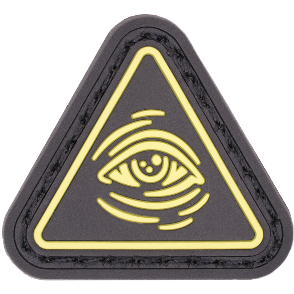 LMSGear Patch Cat Eye All Seeing Eye gelb