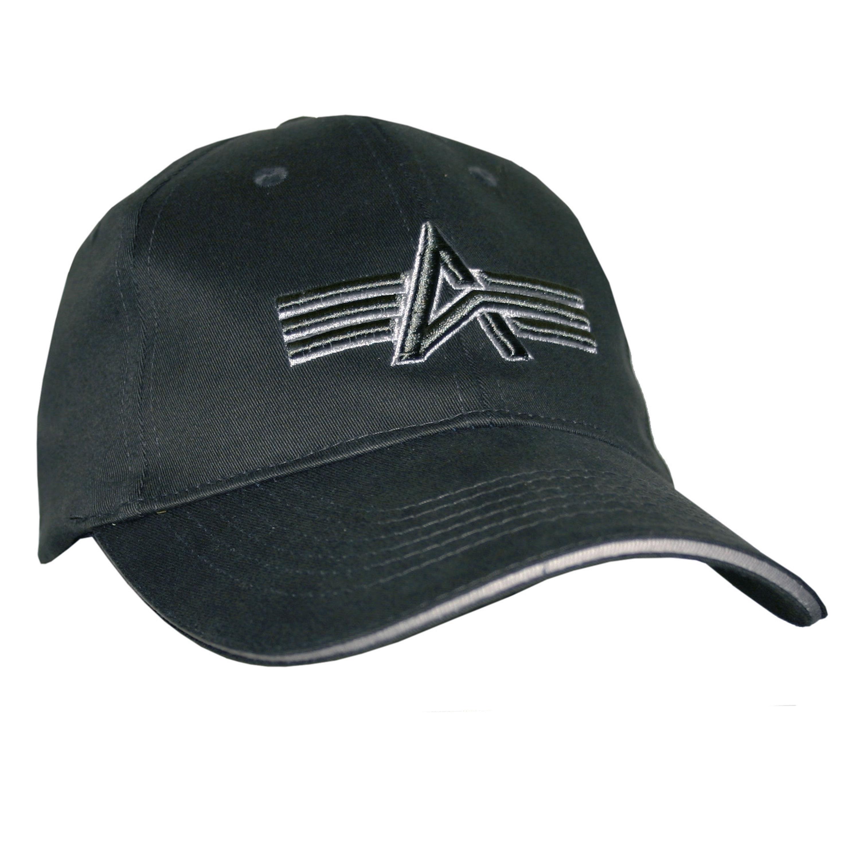 Berretto Baseball Alpha Industries nero