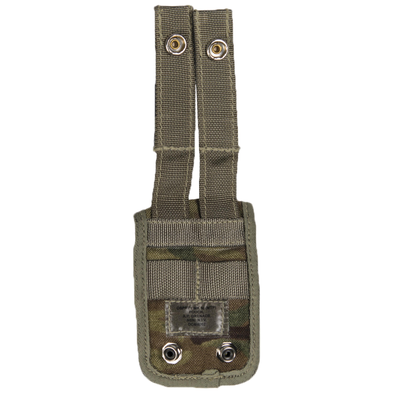 Tasca militare britannica AP Grenade MTP mimetica usata