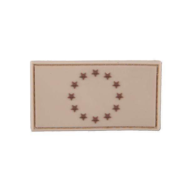 Patch 3D-Patch bandiera EU tan