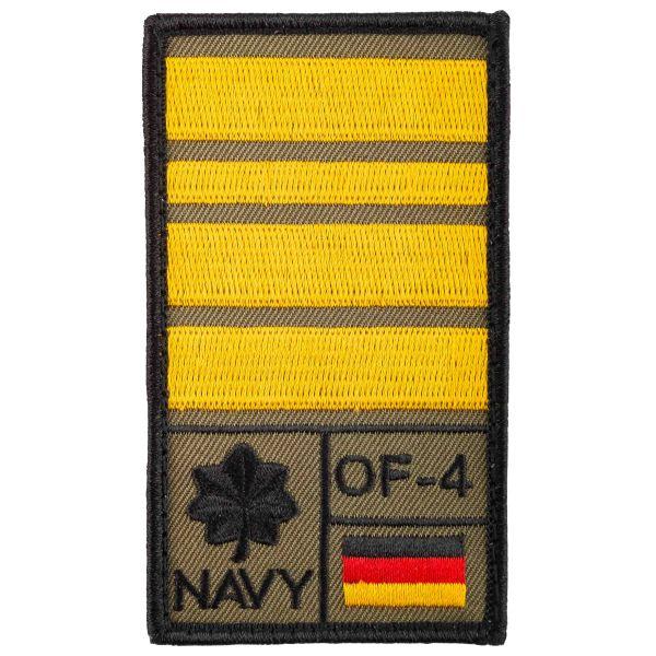 Patch di rango Comandante di Fregata Café Viereck oliva