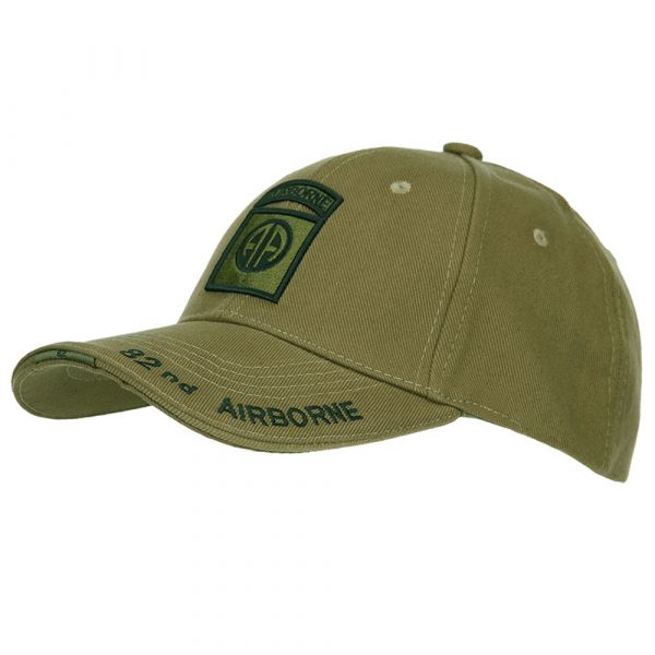 Fostex Garments Baseball Cap 82nd Airborne oliv