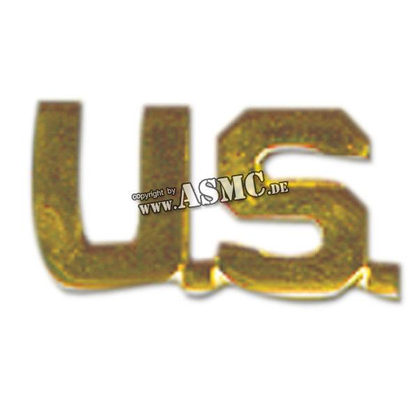 Mostrina lettere US dorate