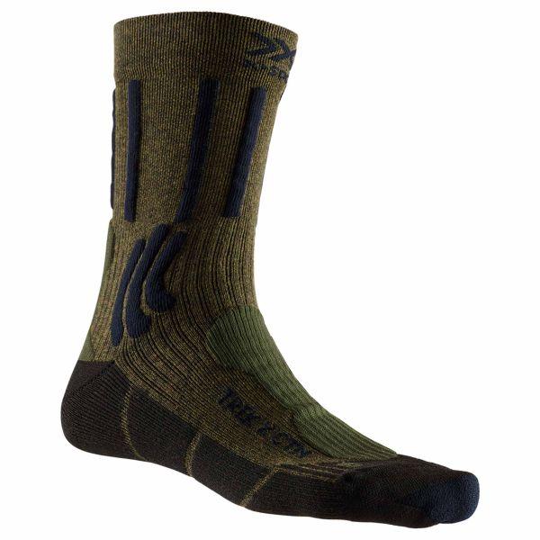 Calze X-Socks Trek X CTN colore verde