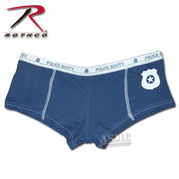 Hot pant Police colore blu
