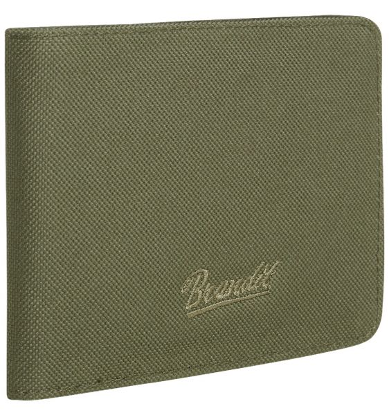 Portafoglio Wallet Four marca Brandit verde oliva